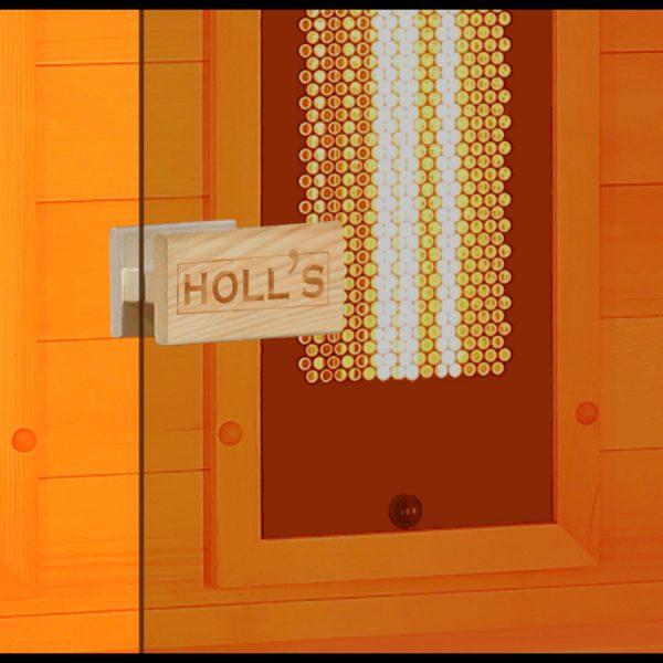 "Sauna Hybride ""Holl's Hybrid Combi"" by Essonne Piscine et Spa"