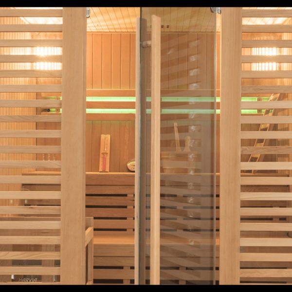 "Sauna Traditionnel ""Holl's Venetian 4 - 5 personnes"" by Essonne Piscine et Spa"